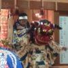 秋祭り、獅子舞に、祭囃子に太鼓に、笛の音色に、癒されて。